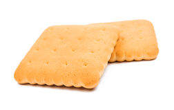 Cracker biscuits Royalty Free Stock Photography