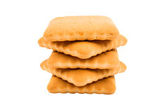 Cracker biscuits Royalty Free Stock Images