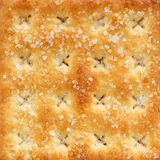 Cracker. Close up Cracker Stack with sugar Royalty Free Stock Images