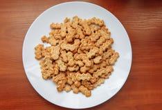 Cracker con i semi di papavero Immagine Stock Libera da Diritti