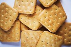Cracker cookies Stock Photos