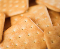 Cracker cookies Royalty Free Stock Photos