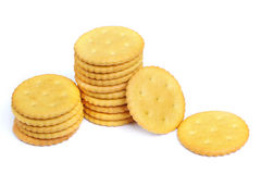 Cracker cookies Stock Photos