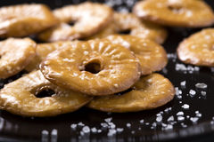 Cracker cookies Stock Photo