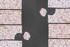 Cracker croccanti Fotografia Stock