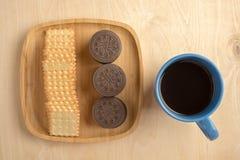 Cracker del biscotto Fotografie Stock Libere da Diritti