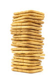 Cracker del burro di arachide fotografie stock libere da diritti