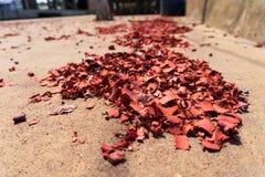 cracker del fuoco Immagini Stock