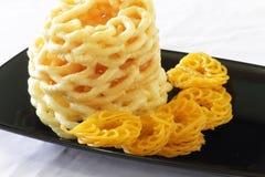 Cracker del gamberetto - compagno dell'alimento Immagine Stock Libera da Diritti