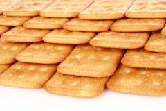 Cracker del mucchio Immagine Stock