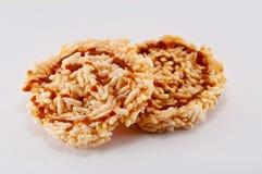 Cracker del riso Fotografia Stock