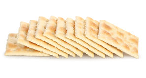 Cracker del Saltine Fotografia Stock