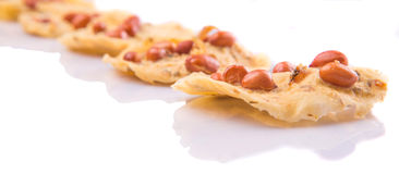 Cracker di Giava malese II dell'arachide Immagine Stock Libera da Diritti
