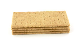 Cracker di Graham della pila Immagini Stock