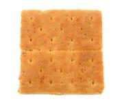 Cracker di Graham isolato Fotografia Stock Libera da Diritti