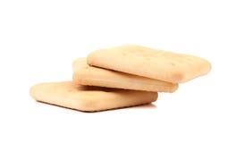 Cracker di soda del Saltine Immagini Stock Libere da Diritti