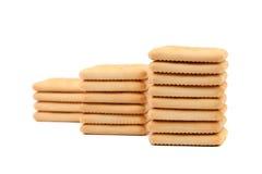 Cracker di soda del saltine del palo. Fotografia Stock Libera da Diritti