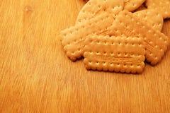 Cracker en koekje royalty-vrije stock foto's