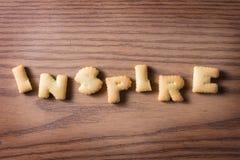 Cracker of inspiration Stock Photo