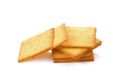 Cracker isolated on  over white background Stock Image