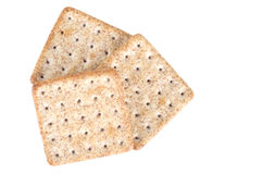 Cracker isolated Royalty Free Stock Photography