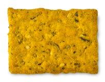 Cracker isolated on white background. Cracker isolated on white background Royalty Free Stock Image