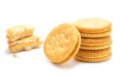 Cracker isolato fotografia stock libera da diritti