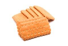 Cracker o biscotto Immagini Stock
