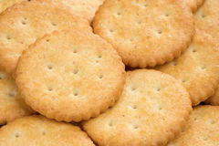 Cracker oben geschlossen Lizenzfreies Stockbild