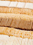Cracker rows Stock Photography