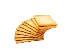Cracker salati Fotografia Stock