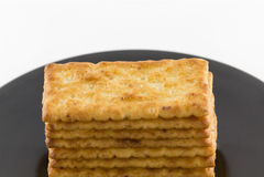 Cracker salati Immagine Stock Libera da Diritti