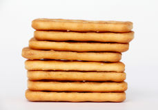 Cracker salati Immagine Stock