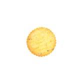 Cracker su fondo bianco fotografie stock