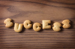 Cracker of success Stock Image