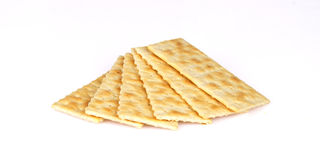 Cracker in the table. A Cracker in the table for dinner Royalty Free Stock Images