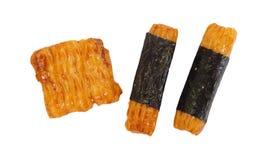 Cracker tailandese del riso Immagini Stock