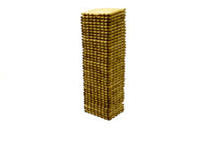 Cracker tower Stock Photo