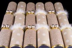 Cracker tradizionale di Natale Fotografie Stock Libere da Diritti