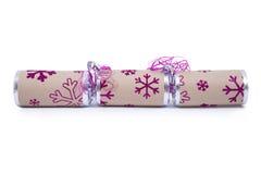 Cracker tradizionale di Natale Fotografia Stock