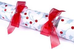 Cracker tradizionale di Natale Fotografie Stock