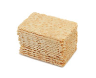 Cracker-type bread, isolated Stock Photo