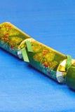 Cracker verde decorato di natale Immagine Stock Libera da Diritti