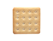 Cracker On White Stock Images