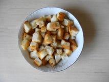Cracker in zolla Fotografia Stock