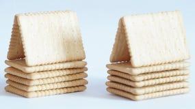 Crackerhäuser Stockfoto