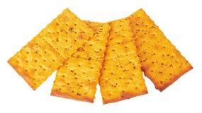 Crackers royalty-vrije stock afbeelding