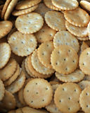 Crackers. Salt and sweet crackers - good for breakfast Royalty Free Stock Image