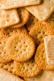 Crackers as a background Stock Photos