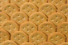 Crackers background Stock Photos